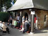 Prière à la Chapelle des Apparitions