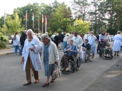 Procession depuis la Source