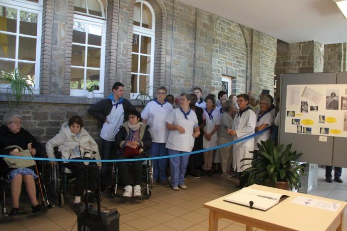 Exposition 80 ans de pèlerinage liégeois à Banneux