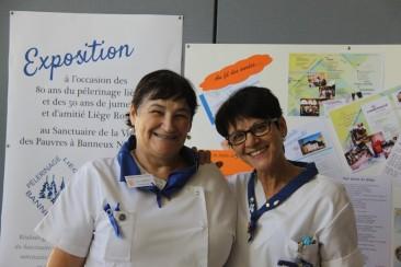 Visi et Françoise - Pèlerinage liégeois à Banneux 2017
