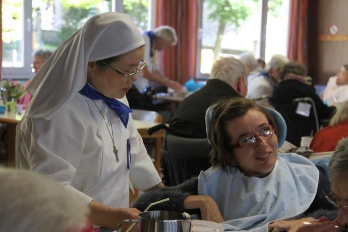 Goûter des 80 ans du pèlerinage liégeois à Banneux